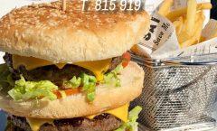 Nuestra hamburguesa doble, trae dos capas de mucho sabor y excelente combinación. Es real y es magnífica