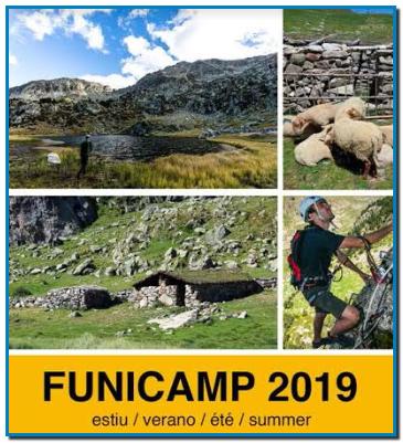 FUNICAMP 2019. En solo 18 minutos y después de recorrer más de seis kilómetros siguiendo el valle dels Cortals, se llega a 2.502 metros de altitud, donde se pueden hacer muchas actividades.
