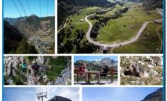 En la Cirera cocina permanente de 12 a 23 horas - FUNICAMP 2019. En solo 18 minutos y después de recorrer más de seis kilómetros siguiendo el valle dels Cortals, se llega a 2.502 metros de altitud