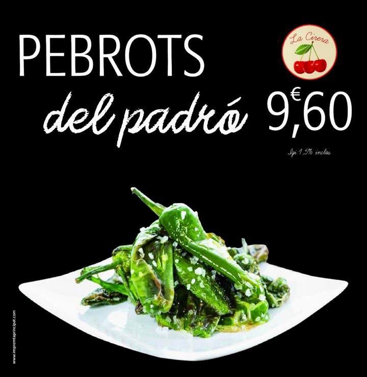 El pebrot de Padró és de petites dimensions, entre uns 5 i no més de 10 cm de color verd oliva a verd groguenc i que tenen com a particularitat gastronòmica, a més de la seva generalitzat intens sabor, el qual alguns exemplars resulten particularment picants, aproximadament entre un 10% i un 25%.